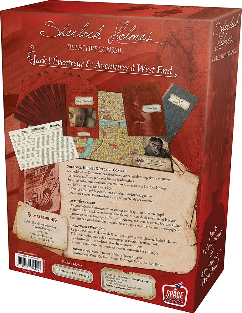 Sherlock Holmes Consulting Detective: Jack the Ripper & West