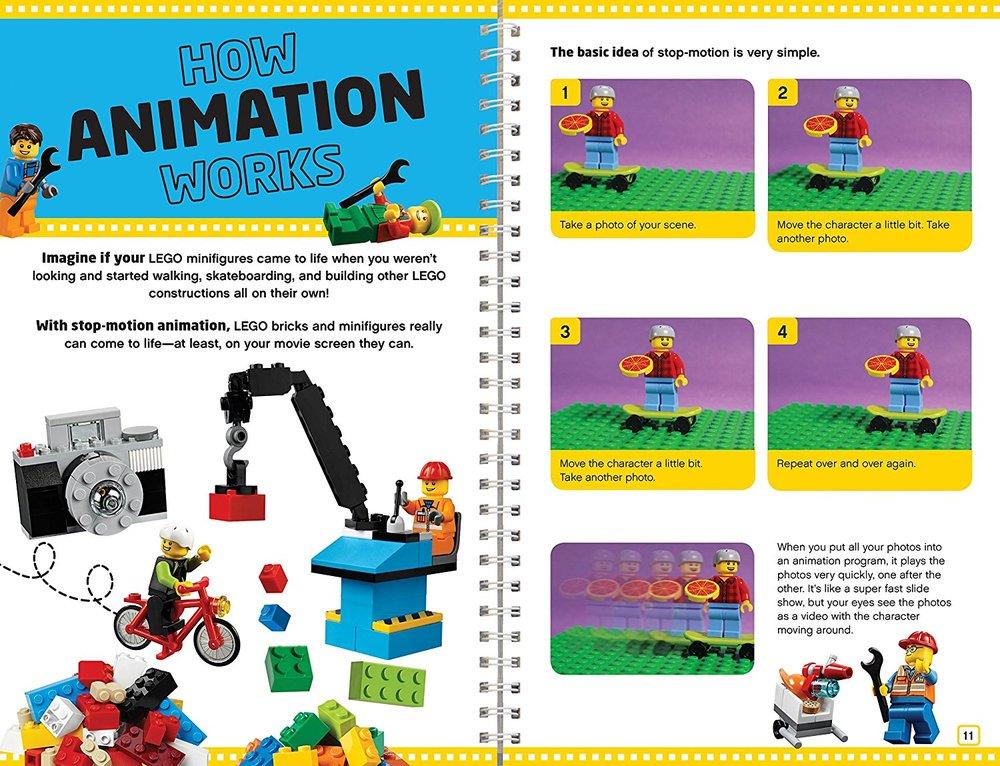 Klutz - LEGO Make Your Own Movie - Toy Sense