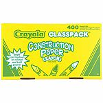 Construction Paper Crayons Classpack