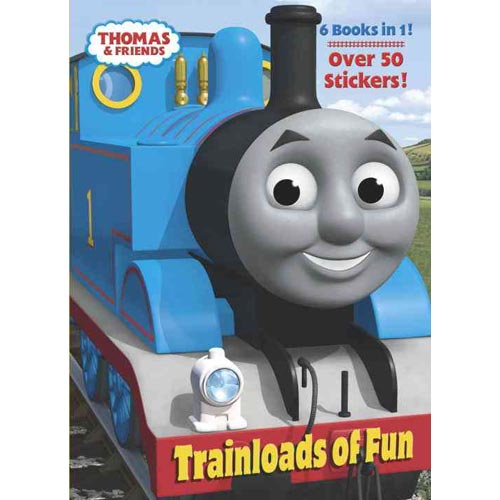 Trainloads of Fun Jumbo Coloring Book - Toy Sense