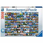 99 Beautiful Places of Europe - Ravensburger