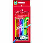 12 Erasable Colour Pencils