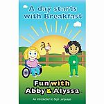 Fun With Abby & Alyssa - Learn To Sign Books