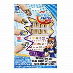 DC Superhero Girls Metallic Nail Kit