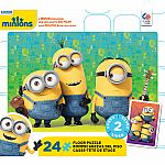 2 sided Minions Floor Puzzle - Ceaco