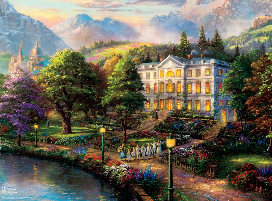 Thomas Kinkade The Sound Of Music Ceaco Toy Sense
