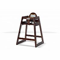 Wood High Chair - Antique Cherry