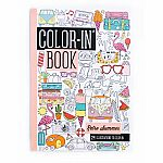 Colour In Book Travel Size Retro