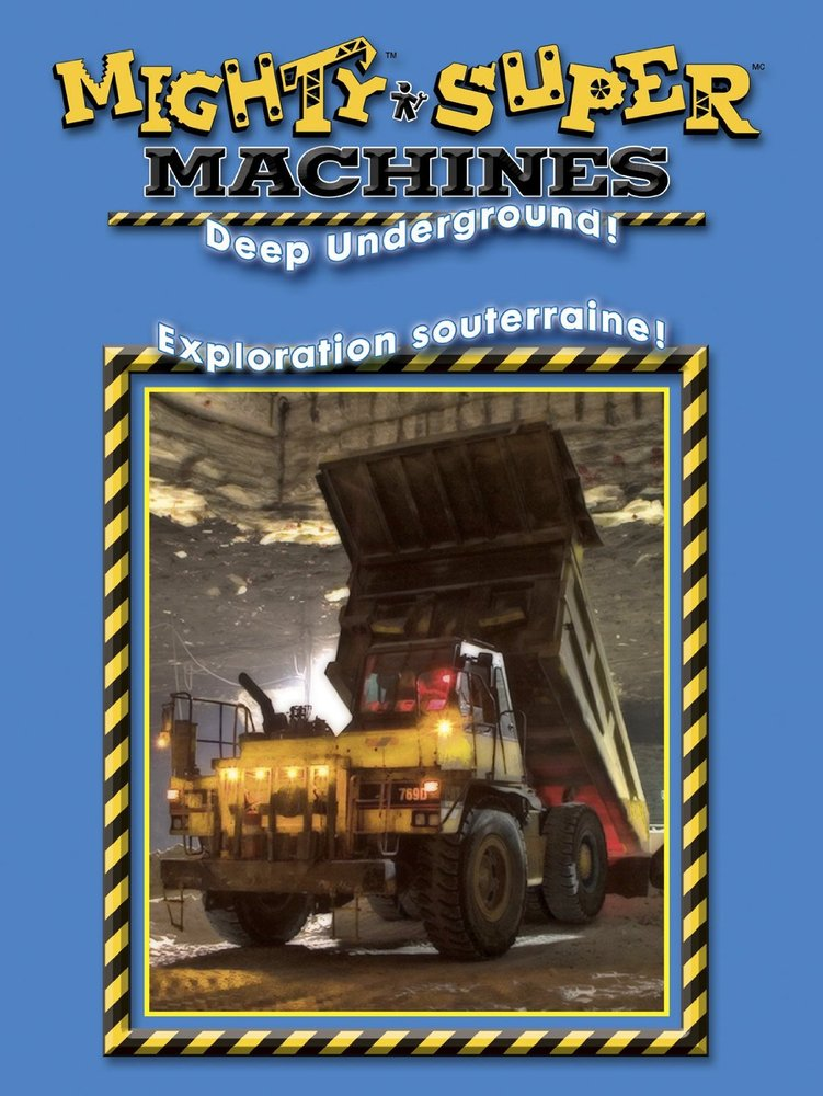 Deep Underground - Mighty Machines DVD - Toy Sense