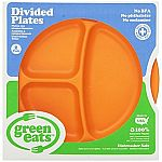 Green Eats Divided Plates - Orange