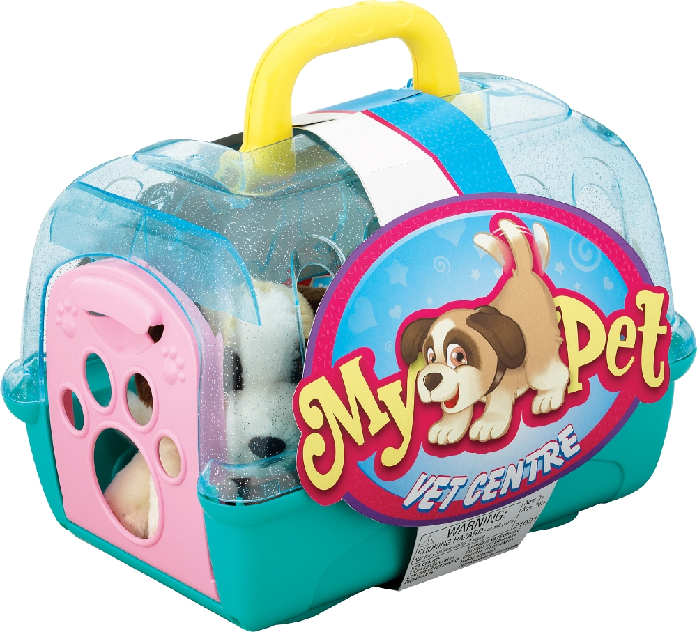 Toy Vet Kit With Dog