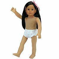 """Julia"" - Undressed Dark Brown Doll"