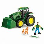 Gear Force Tractor With Moveable Loader, Lights and Sounds