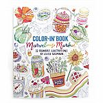 Colour In Book Marvelous Market