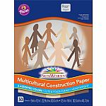 50pk Multicultural Construction Paper - 9x12