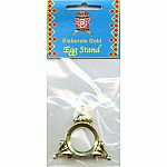 Easter Egg Elaborate Gold Stand in Pkg