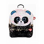 Bamboo - Panda Sequin Backpack (TY Fashion)