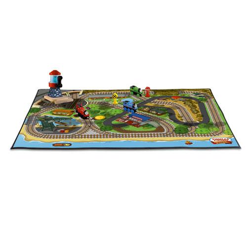 Island Of Sodor Felt Playmat Thomas Wooden Railway Toy