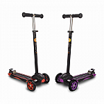 Ybike GLX Pro - Purple and Black Scooter