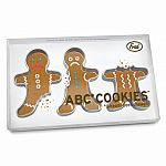 Fred and Friends - A.B.C. Cookie Cutters - Gingerbread Men