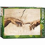 Creation of Adam by Michaelangelo - Eurographics