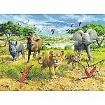 African Animal Babies - Ravensburger