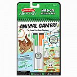 Animal Games! Wipe-Off Activity Pad