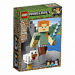 Minecraft Alex BigFig with Chicken