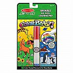 Colorblast Animals - On The Go Coloring Pad