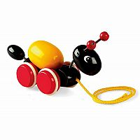 Ant with Rolling Egg Pull Toy