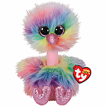 Asha (Medium) - Multicolour Ostrich