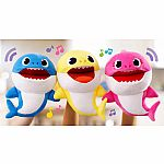 Pinkfong Baby Shark Singing Puppet with Tempo Control