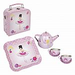 Ballerina Bouquet Tea Set Mini Case - Pale Pink