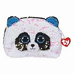 Bamboo - Sequin Panda Accessory Bag (Ty Fashion)