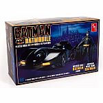 1:25 Batman Batmobile Model Kit with Batman Figure