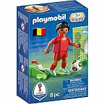 National Soccer Team Player Belgium - RETIRED PRODUCT