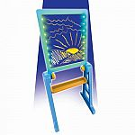 Glow Pad XL with Easel - Blue/Orange