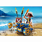 Blue Interactive Cannon with Pirate (D) - RETIRED PRODUCT