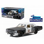 1974 Dodge Monaco Bluesmobile (The Blues Brothers) Die Cast