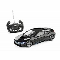 1:14 Battery Operated Remote Control BMW i8 - Black