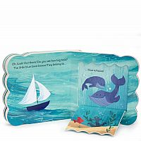 Little Blue Boat - Lift-a-Flap Board Book