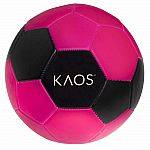 Boom Soccer Ball with Bag - Pink Black