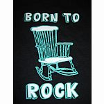 Born to Rock - 4T in black