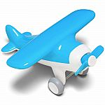 Air Plane Early Learning Push & Pull Toy - Blue