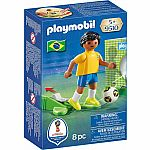 National Soccer Team Player Brazil - RETIRED PRODUCT