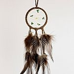 "2.5"" Dream Catcher - Brown"