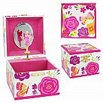 Pink Secret Garden Music Box