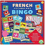 French Vocabulary Bingo - Eeboo