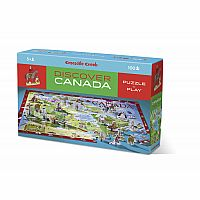 Discover Canada - Puzzle + Play