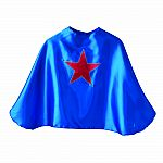 Superhero Cape Blue with Red Star